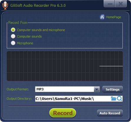 GiliSoft Audio Recorder Pro v7.0.0