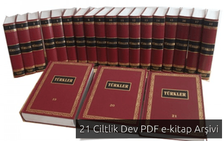 Türkler Ansiklopedisi - 21 Cilt PDF Dev Arşiv
