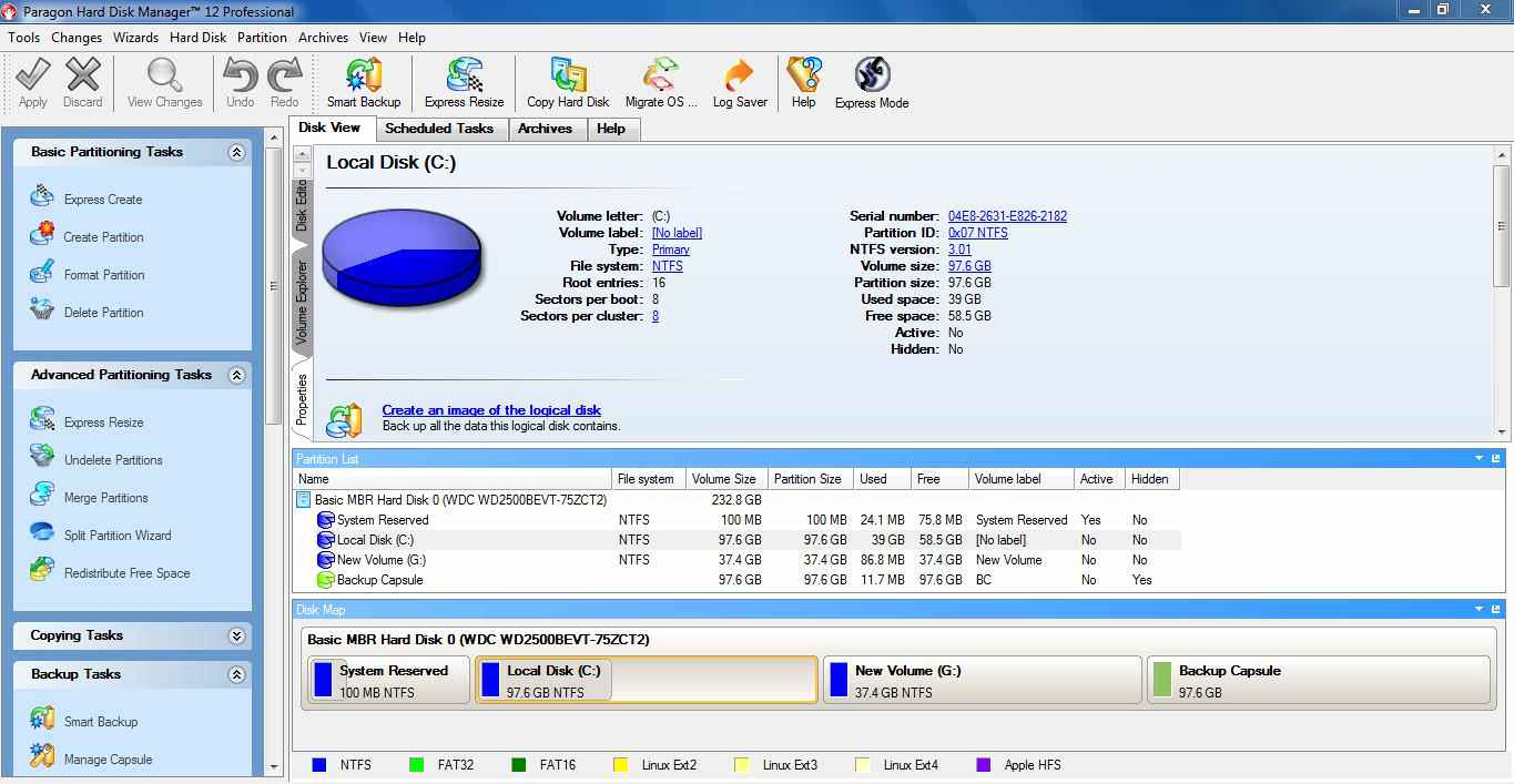 paragon hard disk manager 12 professional full