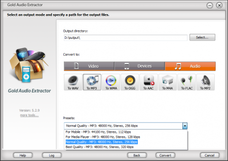 Gold Audio Extractor v6.6.3