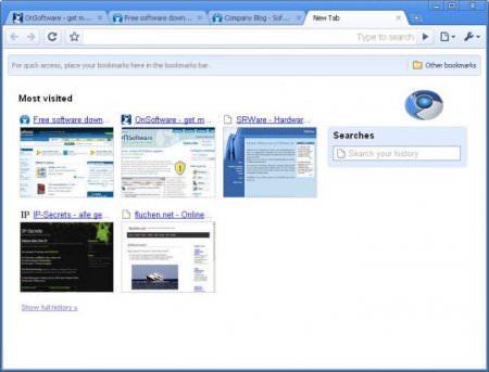 SRWare Iron v38 - Chrome Alternetifi Web Tarayıcı