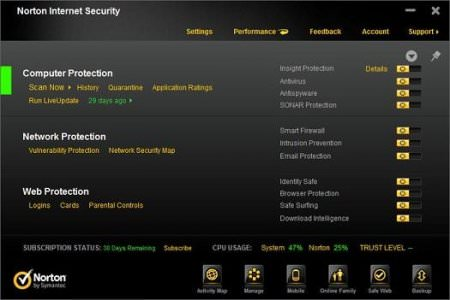 Norton 360 / AV / IS v21.6