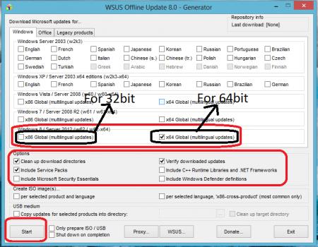WSUS Offline Update v10.7.1