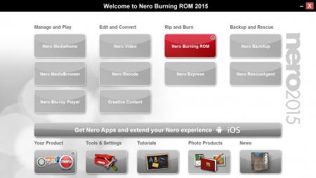 Nero Burning ROM 2015 v16.0 Türkçe