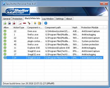 SpyShelter Personal Free v9.5