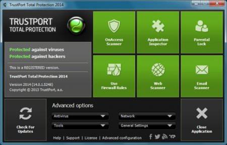 TrustPort Total Protection 2015 v15.0.1.5424