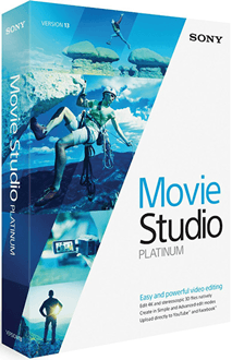 Sony Vegas Movie Studio Platinum v13.0 (x64) Full