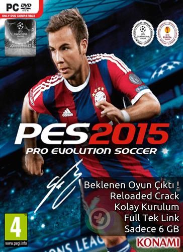 PES 2015 indir - Reloaded - Full - Tek Link