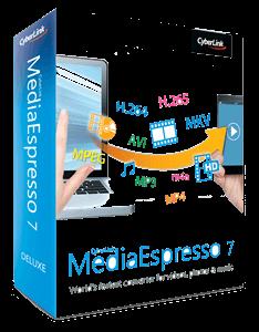 CyberLink MediaEspresso Deluxe v7.5.8022.61105