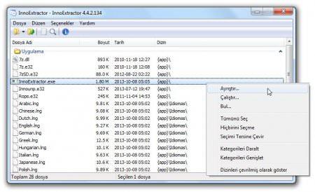 InnoExtractor Plus v5.1.6 Türkçe