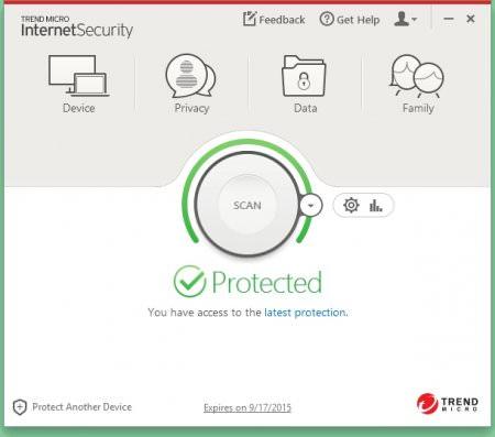 Trend Micro Internet Security 2015 Türkçe