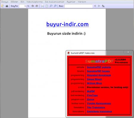 Sumatra PDF v3.1.1 indir