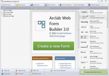 Arclab Web Form Builder v3.50