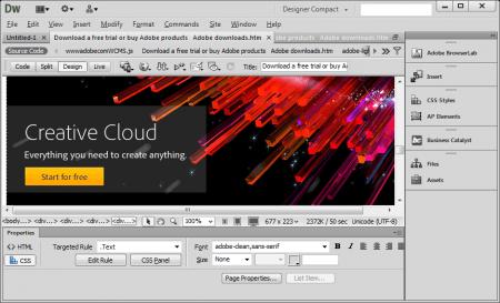 Adobe Dreamweaver CC 2014 v15.0 Türkçe
