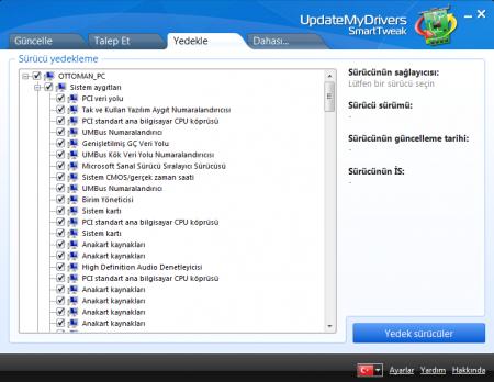 UpdateMyDrivers v9.0 Türkçe