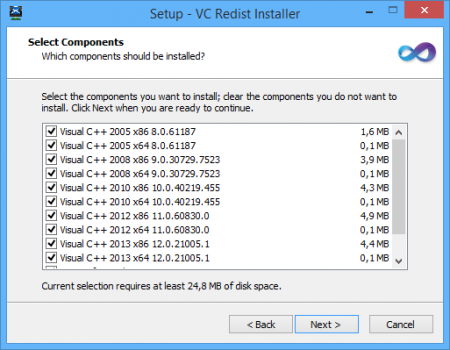 Microsoft Visual C++ Redist Installer 1.6.0 - AIO