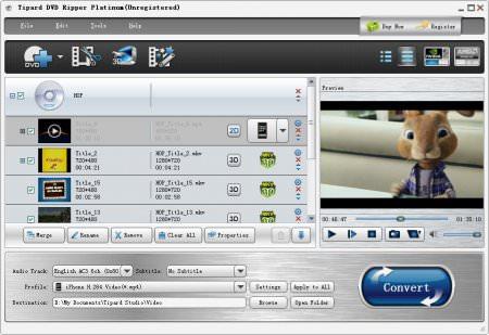Tipard DVD Ripper Platinum v7.3.18
