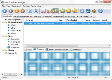Free Download Manager v5.1.15 B4296