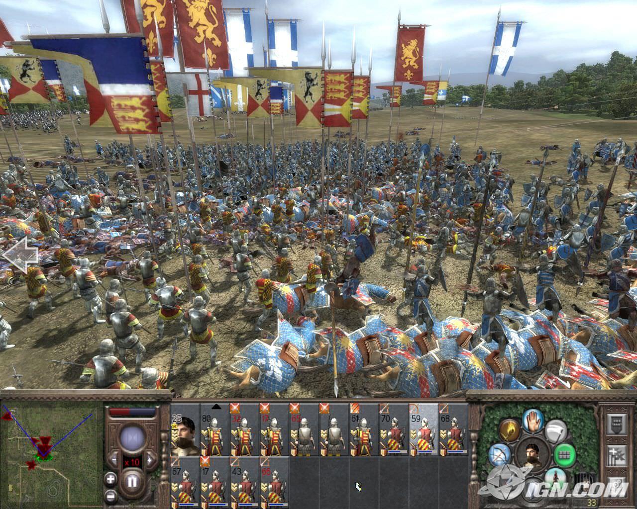 Guerra medieval online games