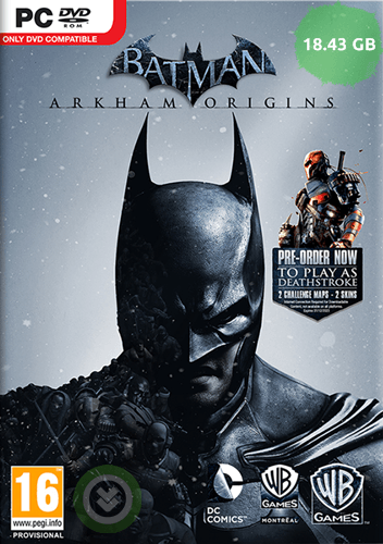 Batman Arkham Origins - RELOADED - Tek Link