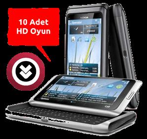 Nokia N8 / E7 / C7 / C6-01 HD Dokunmatik Oyun Paketi