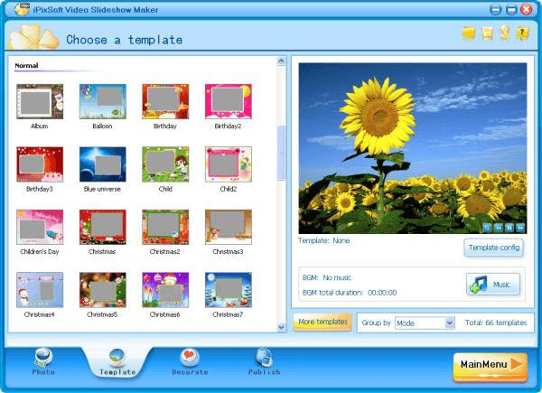 iPixSoft Video Slideshow Maker Deluxe v3.6.0.0