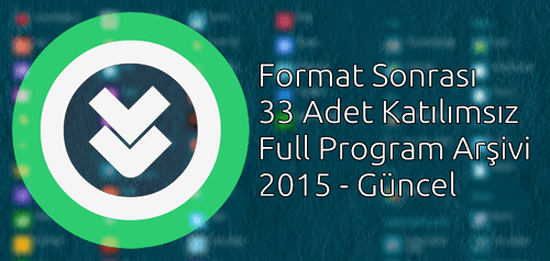 Format Sonrası Katılımsız Program Arşivi - 2015