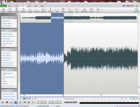 WavePad Sound Editor Masters Edition v6.55