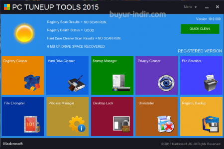 PC TuneUp Tools 2015
