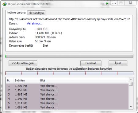 Internet Download Manager v6.28 B5 Türkçe Full