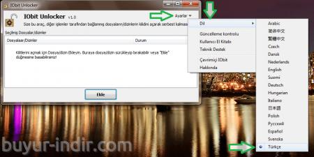 IObit Unlocker v1.0 Türkçe Portable