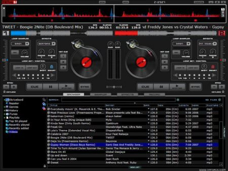 Atomix Virtual DJ Studio 2015 v8.0.2523 + Eklenti + Tema Paketi