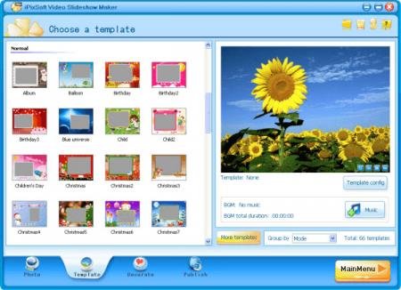 iPixSoft Video Slideshow Maker Deluxe v3.4
