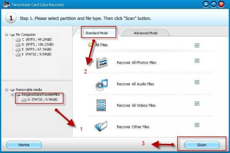 Tenorshare Card Data Recovery v4.3
