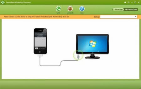 Tenorshare WhatsApp Recovery v2.5
