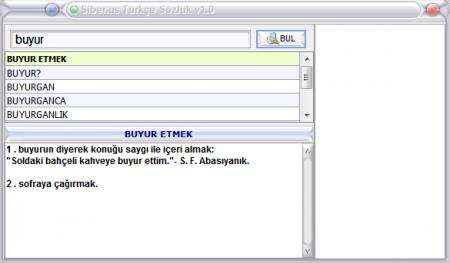 Türkçe Sözlük v1.0 Katılımsız