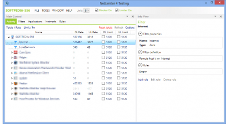 NetLimiter Enterprise v4.0.20