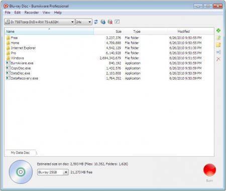 BurnAware Professional / Premium v11.3 Türkçe