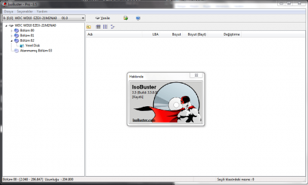 IsoBuster Pro v3.6 Türkçe Katılımsız