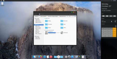 Mac OS X Dark Skin Pack Türkçe v1.0