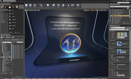 Unreal Engine v4.11.0 + Master Pack