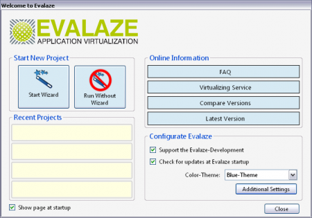 Evalaze Commercial Edition v2.2