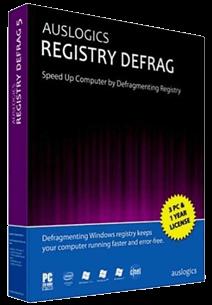 Auslogics Registry Defrag v9.0