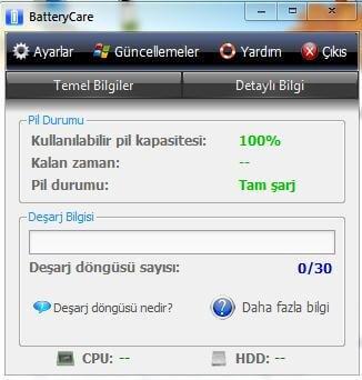 BatteryCare Türkçe