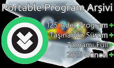 125 Adet Portable Program Arşivi - 2015