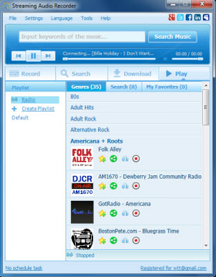 Apowersoft Streaming Audio Recorder v4.2.0 Türkçe