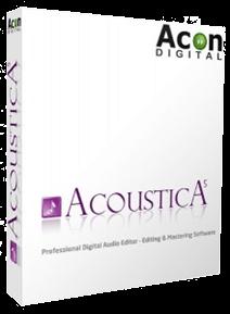 Acon Digital Media Acoustica Premium v7.0.9