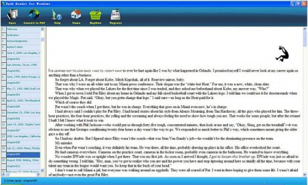 ePub Reader for Windows v5.3