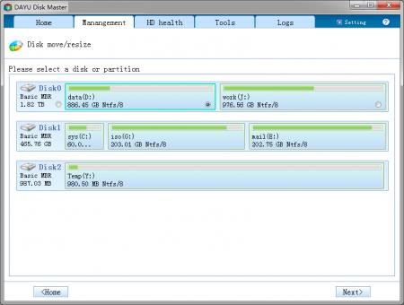 Dayu Disk Master Professional v2.8.2