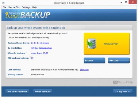 SuperEasy 1-Click Backup v1.18